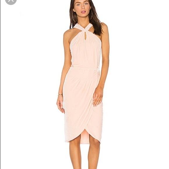 cupcakes & cashmere Dresses & Skirts - NWT Cupcakes & Cashmere Pink Velvet Dress sz. 10✨